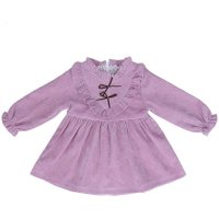 Fashion Baby Girls Dress Princess Pink Purple Newborn Dresses Kids Cute Christmas Holiday Party Costume Girl New Year's Gift