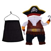 Halloween Pirate Design Funny Dog Clothes Cotton Soft Pet Clothing Costume Doggy Holiday Festival Corsair Party Suits With Hat