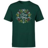 Hoppy Holidays T-Shirt - Forest Green - L - Forest Green